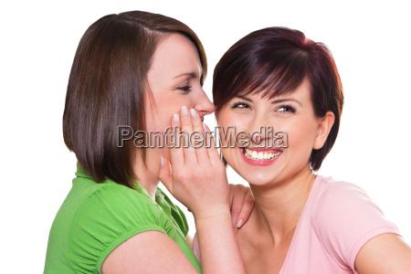 women viewed whisper in the ear
