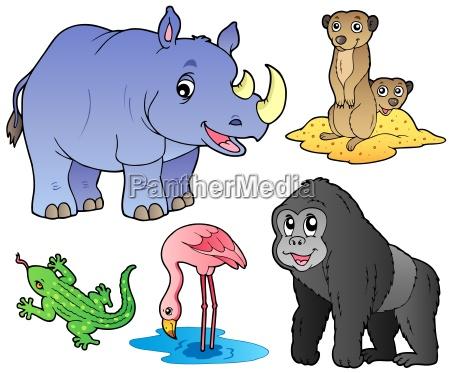 zoo animals set 1