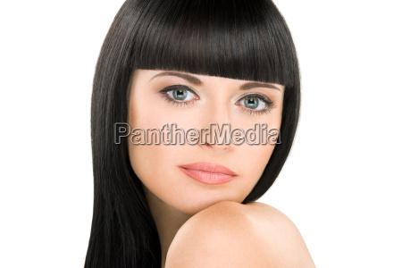 perfect brunette