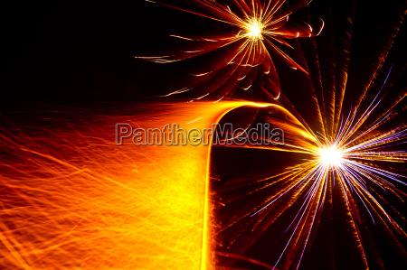 shooting starburst