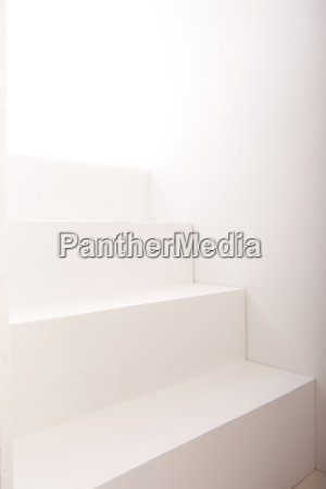 background of white steps