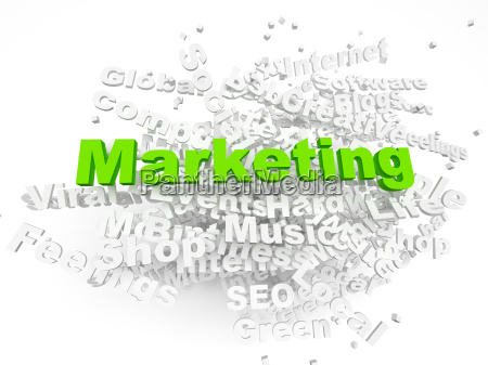 group of marketing related words part