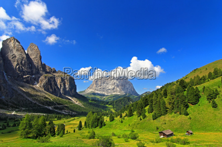 mountains dolomites alps summer summerly scenery