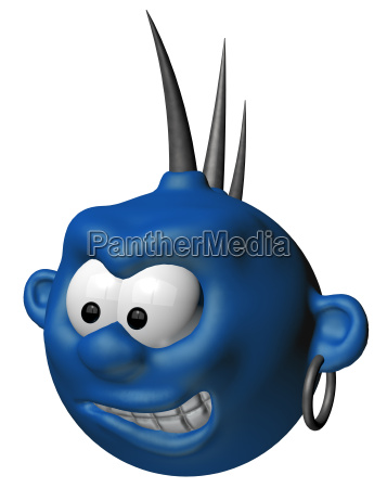 blue punker