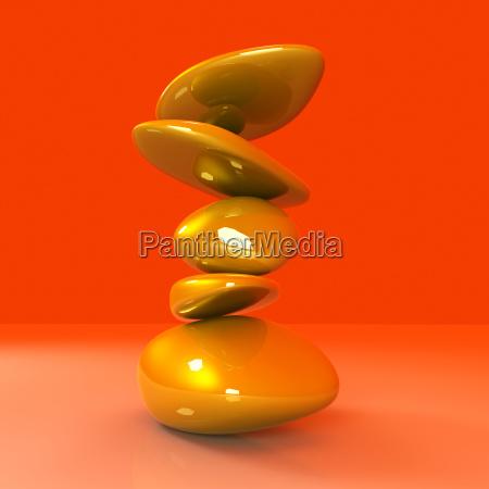 balancing gold nuggets