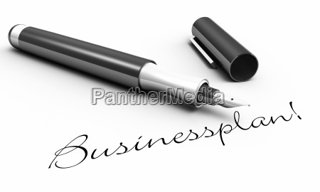 business plan pen concept