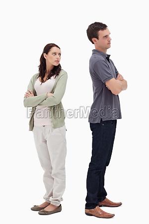 couple in disagreement