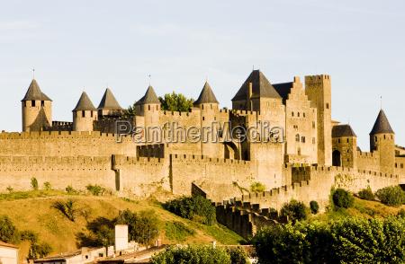 carcassonne languedoc roussillon france