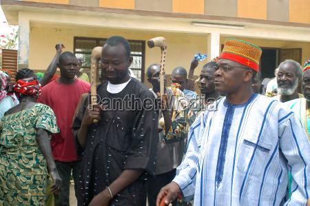establishment of a usual chief in
