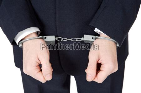 businessman swindler
