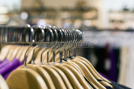 hangers and shopping