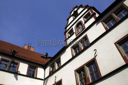 city hall in muhlhausen thuringen