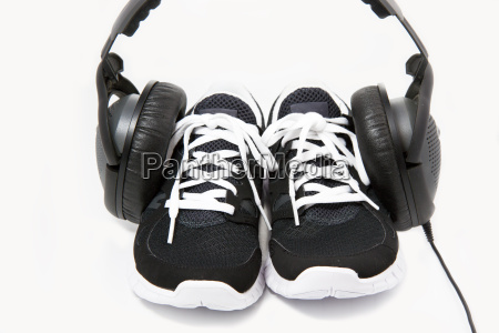 sports shoes jogging shoes on a