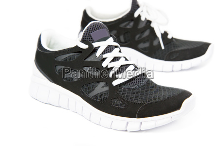 sports shoes jogging shoes on white