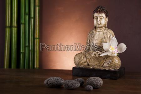 buddha in conceptual zen