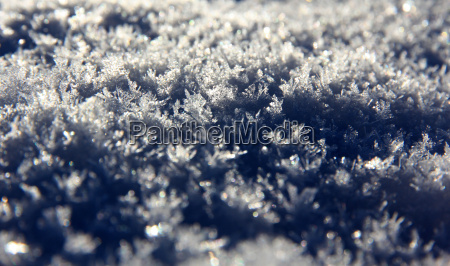 winter cold field glitter crystals snow
