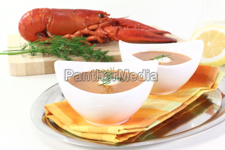 fresh lobster bisque