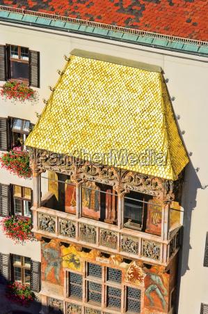 innsbruck golden roof innsbruck golden