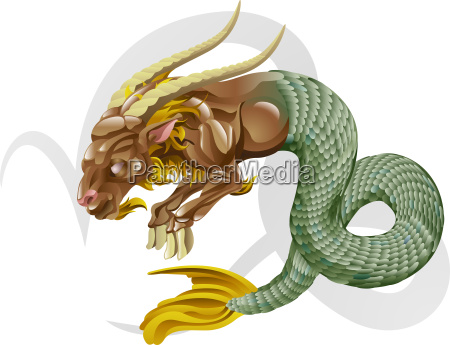 capricorn the sea goat star sign