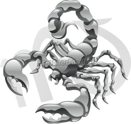 scorpio the scorpion star sign