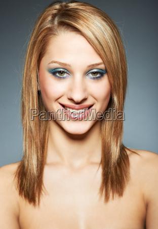 beauty headshot girl