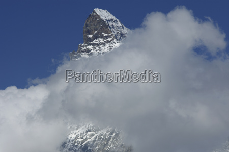 the infamous clouds of the matterhorn
