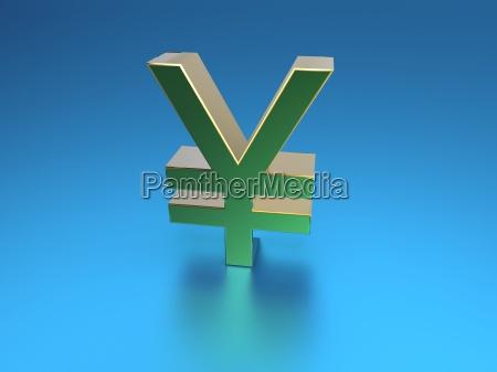 symbolic yen