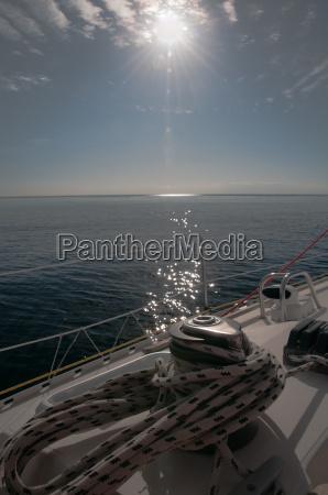 sailing against the sun