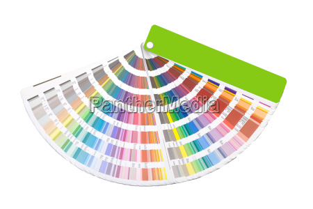 color guide swatch