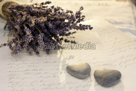 stone hearts and lavender