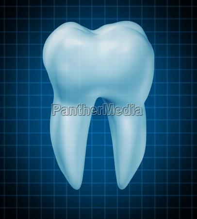 healthy teeth symbol