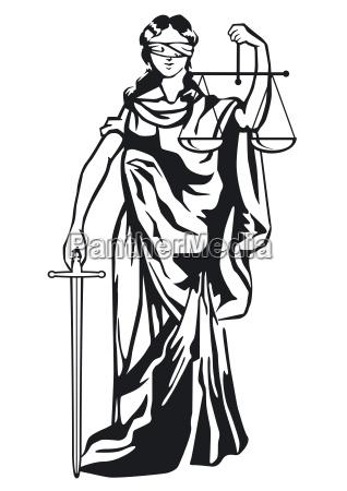 justizia sculpture