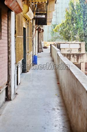 industrial estate corridor serving commercial enterprises