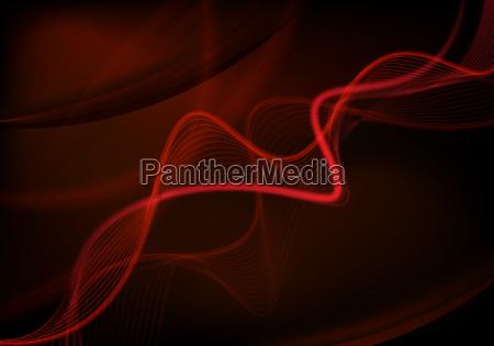 red futuristic background