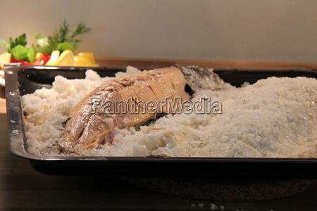 char in salt crust
