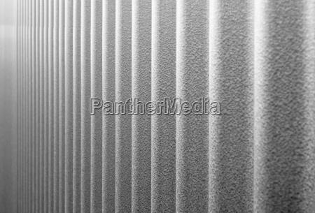 corrugated infinity bw