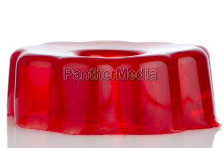 delicious red gelatin