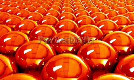 hot reflection balls background
