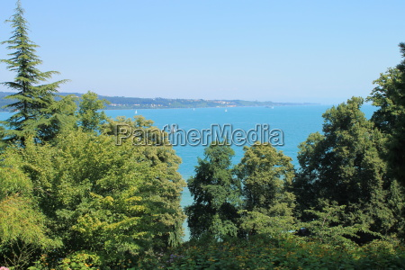 view from the mainau on lake