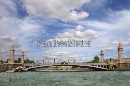 alexander the third bridge aka pont