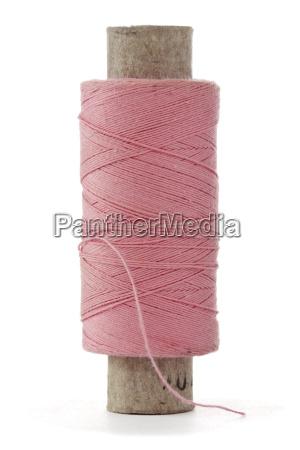 pink bobbin thread