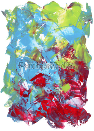 acrylic color textures on white smooth
