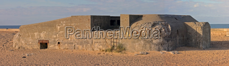 panorama of a bunker