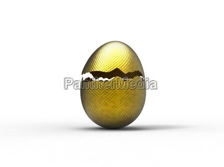 luxury of golden egg