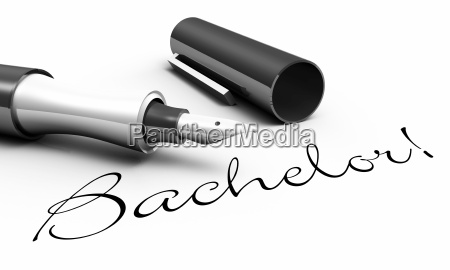 bachelor pen concept