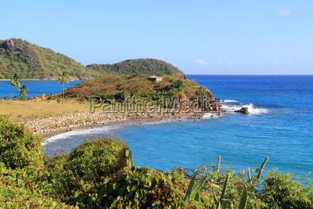 coastline in antigua barbuda