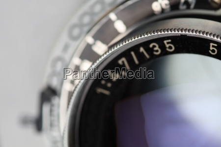 antik kamera linse