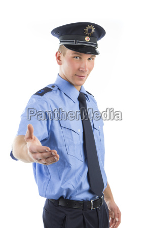police in uniform