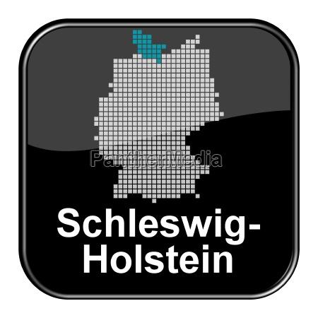 glossy button black schleswig holstein