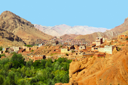 morocco city village kasbahs